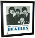 BEATLES ELEANOR RIGBY LITHOGRAPH - FRAMED