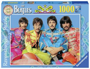 BEATLES SGT. PEPPER 1000 PIECE PUZZLE
