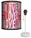 BEATLES YELLOW SUB LOVE IS LAMP-WHITE SPORT BASE