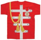 SGT. PEPPER RED UNIFORM SUBLIMATION TEE