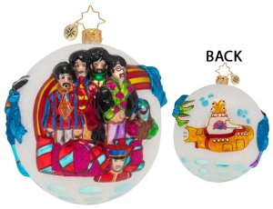 PEPPERLAND WITH LOVE GLASS ORNAMENT