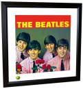 BEATLES FROM ME TO YOU LITHOGRAPH - FRAMED
