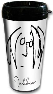 JOHN LENNON SELF PORTRAIT TRAVEL MUG