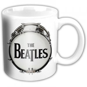 BEATLES DRUM LOGO 11 OZ MUG