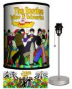 BEATLES YELLOW SUB STROLLING LAMP-SILVER SPORT BASE