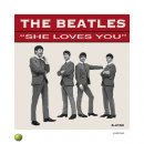 BEATLES SHE LOVES YOU (US) LITHOGRAPH - UNFRAMED