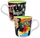 BEATLES ALBUM COLLAGE 12 OZ CERAMIC MUG