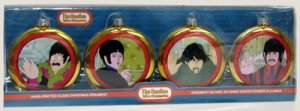 BEATLES 2015 YELLOW SUBMARINE PORTHOLE 4 PC SET
