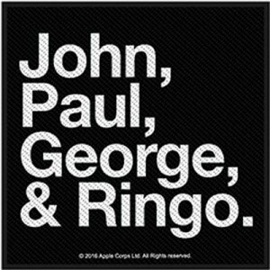 JOHN, PAUL, GEORGE, RINGO PATCH