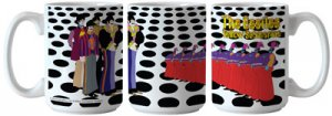 YELLOW SUB/SEA OF HOLES SUBLIMATED MUG