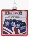 "3.25"" ""THE BEATLES STORY"" ALBUM GLASS ORNAMENT"