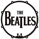 THE BEATLES DRUM MOUSE MAT