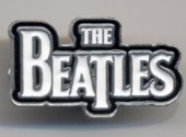 THE BEATLES WHITE LOGO PIN