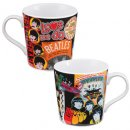 BEATLES COLLAGE 12 OZ MUG
