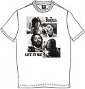 THE BEATLES LET IT BE WHITE T-SHIRT - Medium - Last One