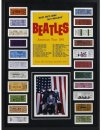 THE BEATLES 1964 U.S. CONCERT TICKETS COLLAGE