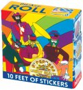 THE BEATLES YELLOW SUBMARINE STICKER ROLL