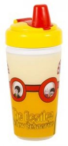 YELLOW SUB PORTHOLES 10 oz. SIPPY CUP