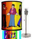 BEATLES YELLOW SUB STANDING RAINBOW LAMP-CRYSTAL BASE