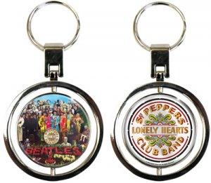 SGT. PEPPER SPIN KEY CHAIN