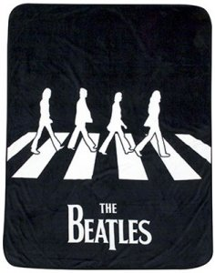 BEATLES ABBEY ROAD FLEECE THROW