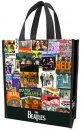 BEATLES COLLAGE SMALL RECYCLED SHOPPER TOTE