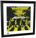 BEATLES SOMETHING LITHOGRAPH - FRAMED