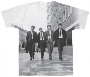 BEATLES ON GUILFORD ST. SUBLIMATION T