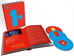 "THE BEATLES ""1+"" DELUXE LIMITED ED. CD + 2 BLU-RAY"