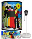 BEATLES YELLOW SUB WITH INSTRUMENTS LAMP-WHITE SPORT BASE