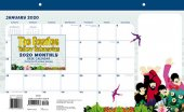 "YELLOW SUBMARINE 2020 11"" X 17"" DESKPAD CALENDAR"