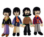 YELLOW SUB BAND MEMBERS PLUSH SET OF ALL 4 BEATLES - LAST SETS