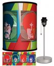 BEATLES YELLOW SUB SEA OF SCIENCE LAMP-SILVER SPORT BASE