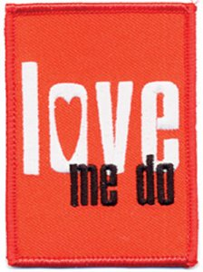 LOVE ME DO PATCH