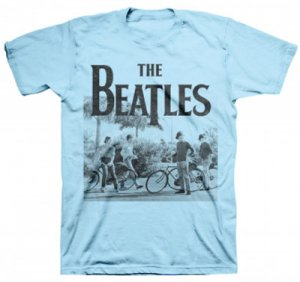 BEATLES HELP! BICYCLE SCENE T-SHIRT
