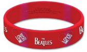 LOVE ME DO/LOGO RUBBER BRACELET