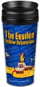 YELLOW SUBMARINE 14 OZ. TRAVEL TUMBLER