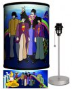 BEATLES YELLOW SUB THE BOYS LAMP-SILVER SPORT BASE