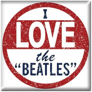"I LOVE THE ""BEATLES"" MAGNET"