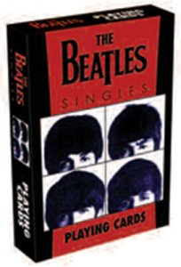 BEATLES SINGLES PLAYING CARDS - Save 33%