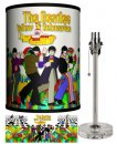 BEATLES YELLOW SUB STROLLING LAMP-CRYSTAL SPORT BASE