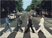 THE BEATLES ABBEY ROAD 1000 PIECE PUZZLE