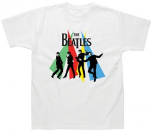 BEATLES JUMPING WITH COLOR