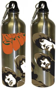 RUBBER SOUL BLACK TOP 24 OZ WATER BOTTLE