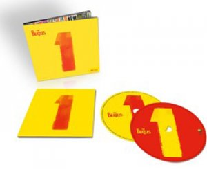 "THE BEATLES ""1"" TWO DISK SET CD + BLU-RAY"