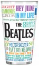 BEATLES GREATEST HITS SUBLIMATION PINT