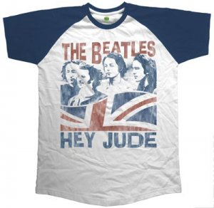 BEATLES HEY JUDE - WINDSWEPT RAGLAN TEE