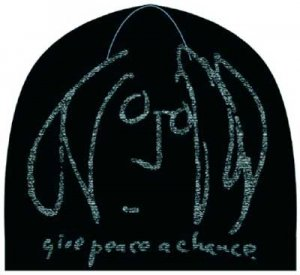 JOHN LENNON GIVE PEACE A CHANCE BEANIE