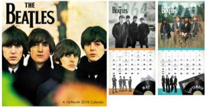 "BEATLES 2018 DAY DREAM MINI 7"" X 7"" CALENDAR"