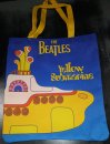 YELLOW SUBMARINE LARGE SUBLIMATION CANVAS TOTE